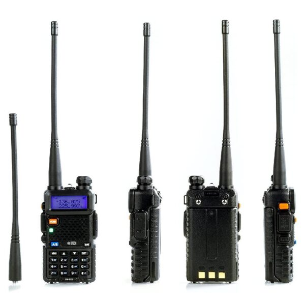 Baofeng UV-5RA Talkie Walkie Radio bi-bande avec Casque