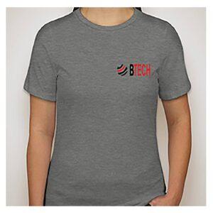 BTECH Shirt Ladies Silver