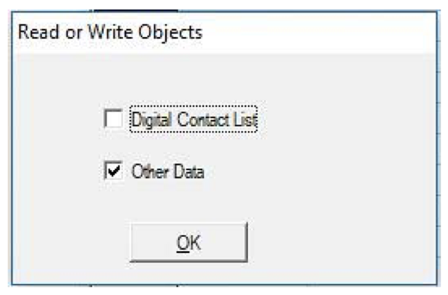 read or write objects